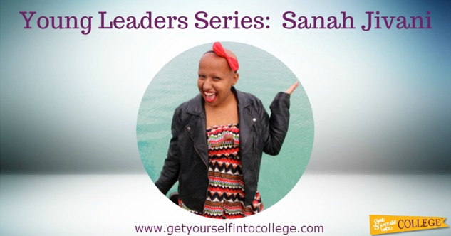 Young Leaders Series:  Sanah Jivani