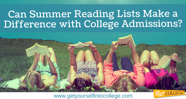 Can Summer Reading Lists Make a Difference with College Admissions?