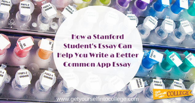 Read this Stanford Student's Essay