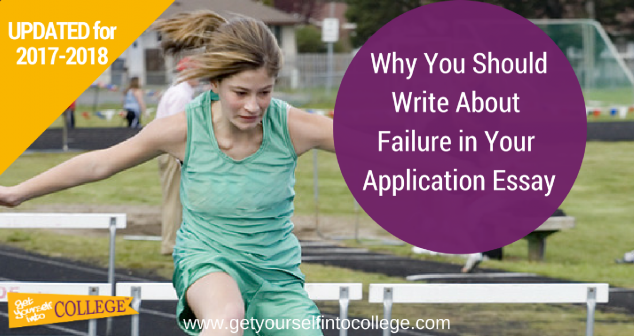 Writing About a Challenge, Setback, or Failure in Your College Application Essay