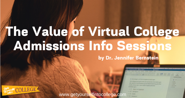 The Value of Virtual College Admissions Info Sessions